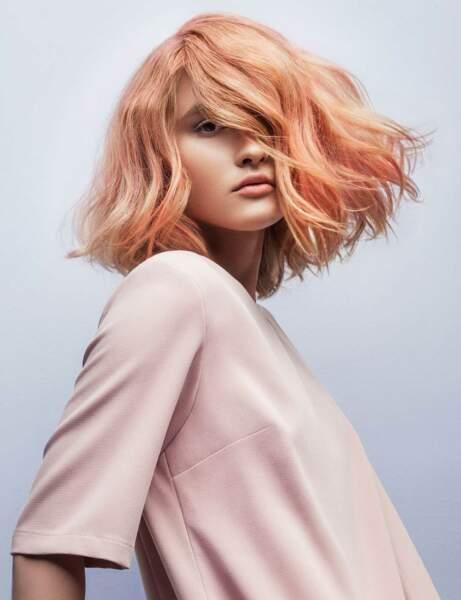 Le blond rosé
