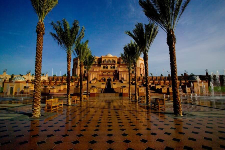 Emirates Palace Front area