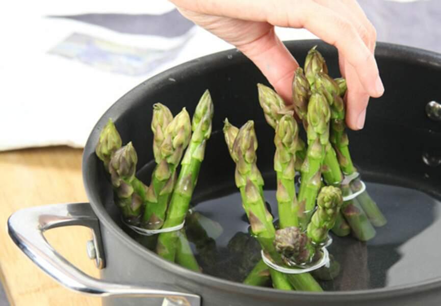 Réussir à tous les coups la cuisson des asperges