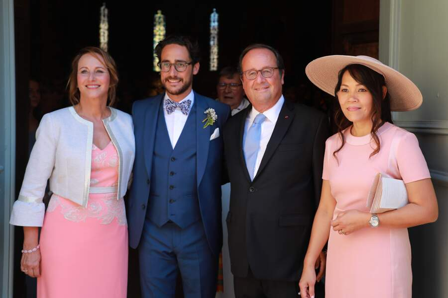 Un mariage célébré en présence de François Hollande et Ségolène Royal