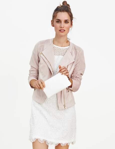 Robe blanche : petit prix