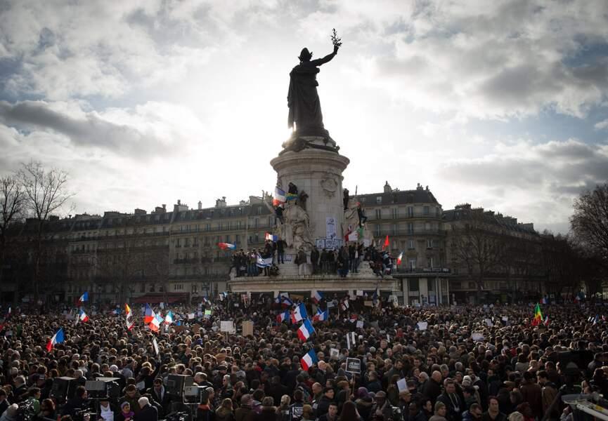Marche républicaine : 3,7 millions de Français ont défilé