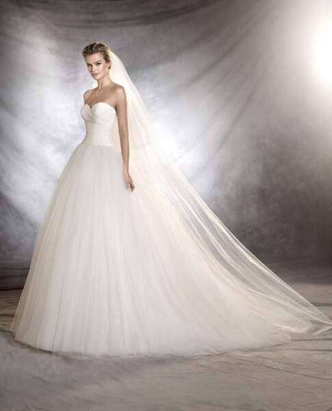 Robe de mariée Pronovias : Ozana