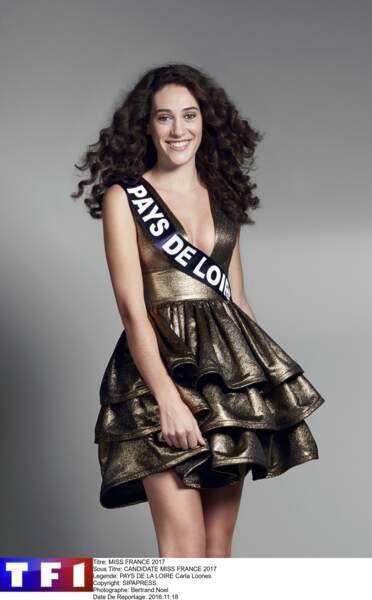 Miss Pays de la Loire - Carla Loones