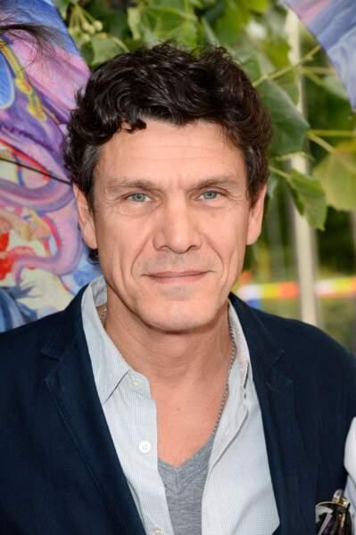 Marc Lavoine à l'ouverture de la fête des Tuileries à Paris le 27 juin 2014.