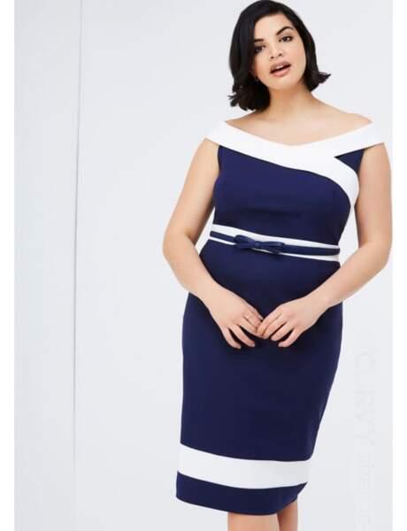 Mode grande taille : la robe élégante