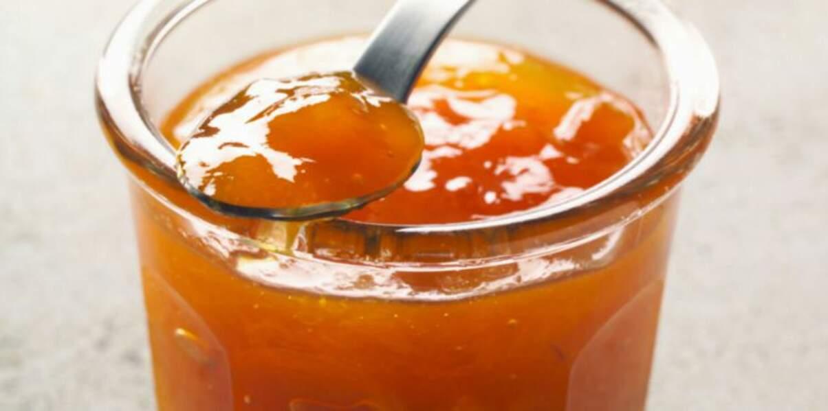 Confiture abricot et gingembre