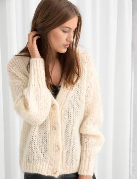 Pull gilet : cool