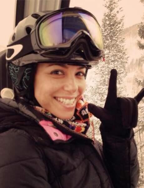 Eva Longoria : un look 100% sportif pour dévaler les pistes