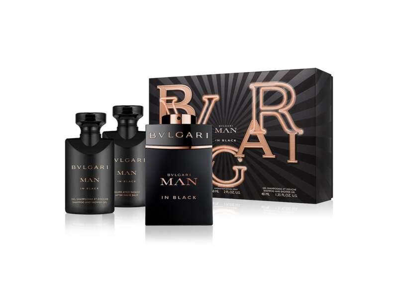 Coffret Man in Black, Bulgari, prix indicatif : 102 €