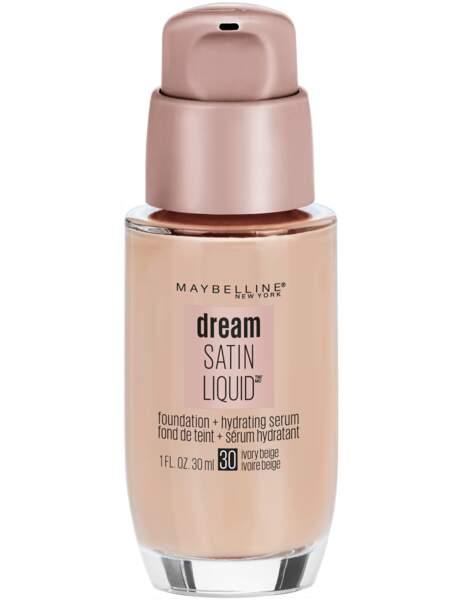 Si j'ai la peau sèche : le fond de teint Dream Satin Liquid Maybelline New York