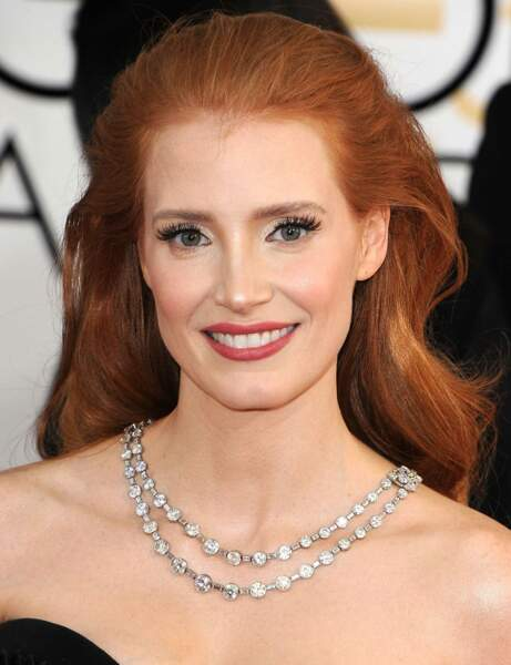 Jessica Chastain : son halo glamour