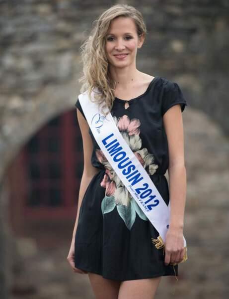 Sandra Longeaud : Miss Limousin