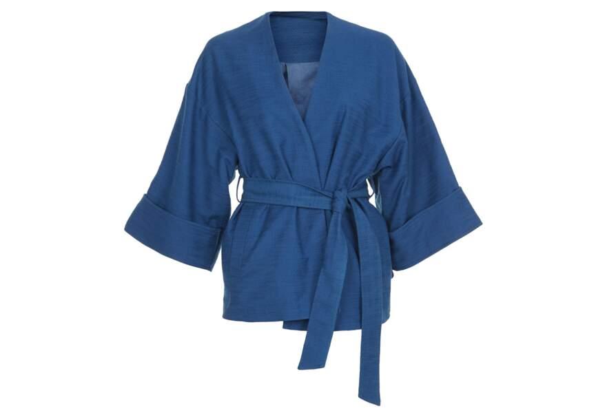 Tendance kimono: court