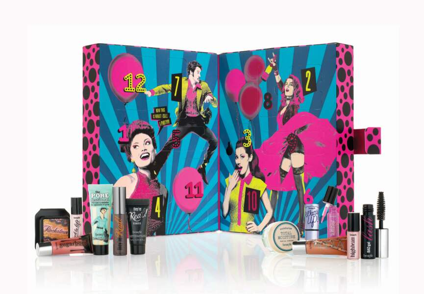 48,95 € : le calendrier des best sellers Benefit