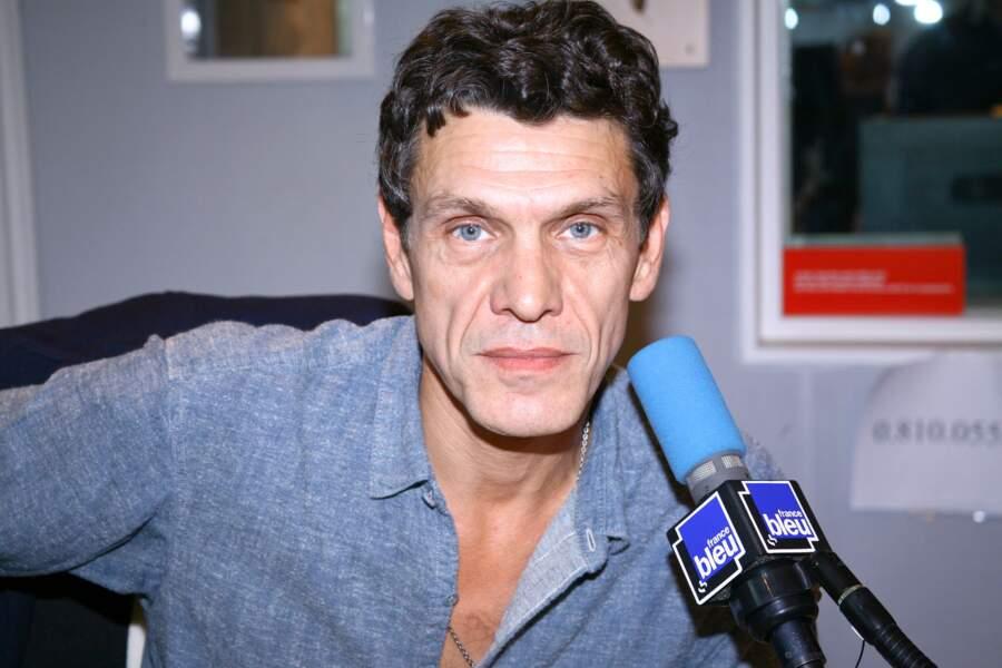 Marc Lavoine en 2012.