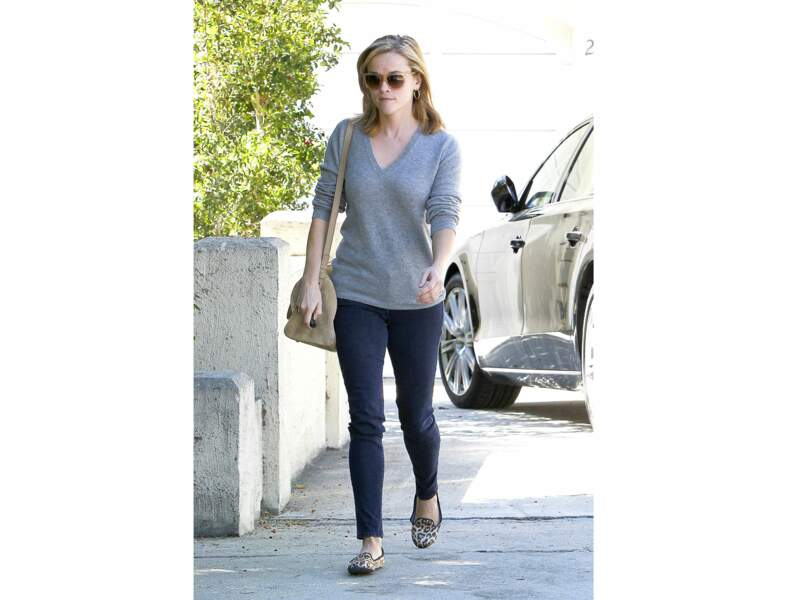 Le look casual de Reese Witherspoon