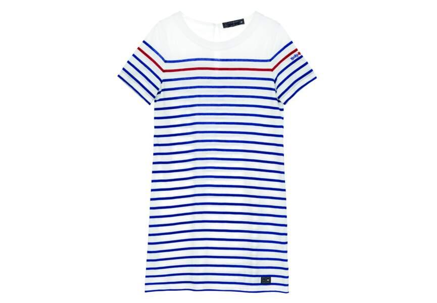Bleu blanc rouge: la petite robe d'été