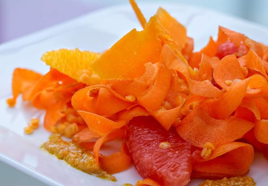 Salade orange