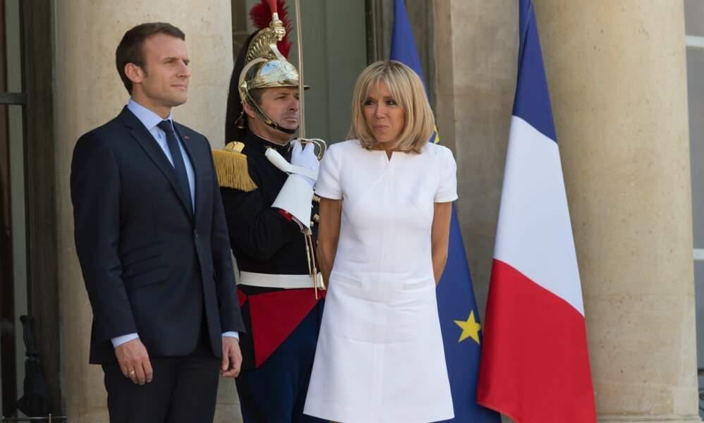 Emmanuel et Brigitte Macron - Juin 2017