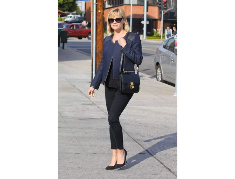 Reese Witherspoon : le sac classique et discret