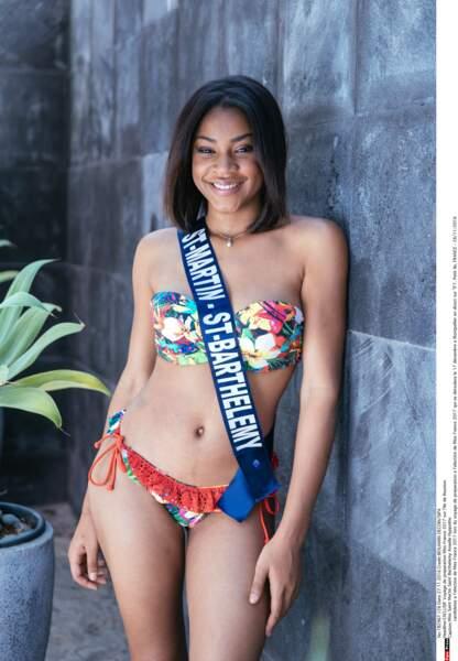 Miss France 2017 : miss Saint Martin - Saint Barthélémy Anaëlle Hyppolite