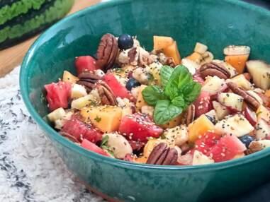 Salade pastèque-feta, pois chiche, sucré-salé : nos recettes de salades originales pour l'été