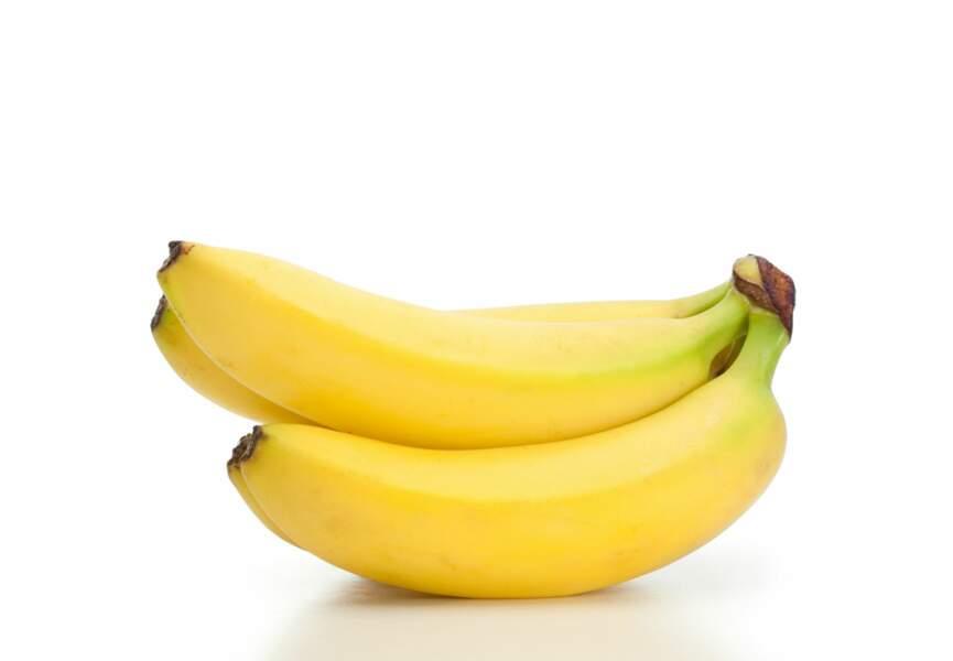 La banane, l'arme anti-fringales