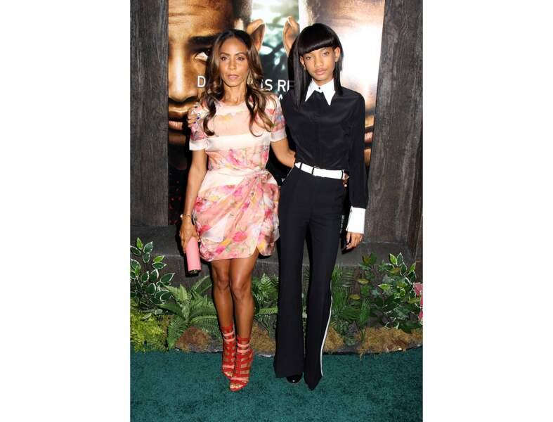 Jada Pinkett Smith et sa fille Willow Smith