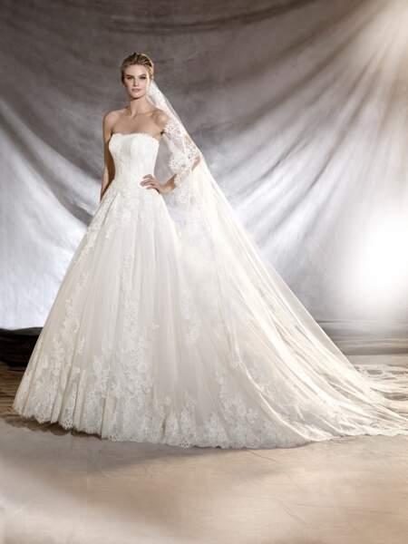 Robe de mariée Pronovias : Oribe