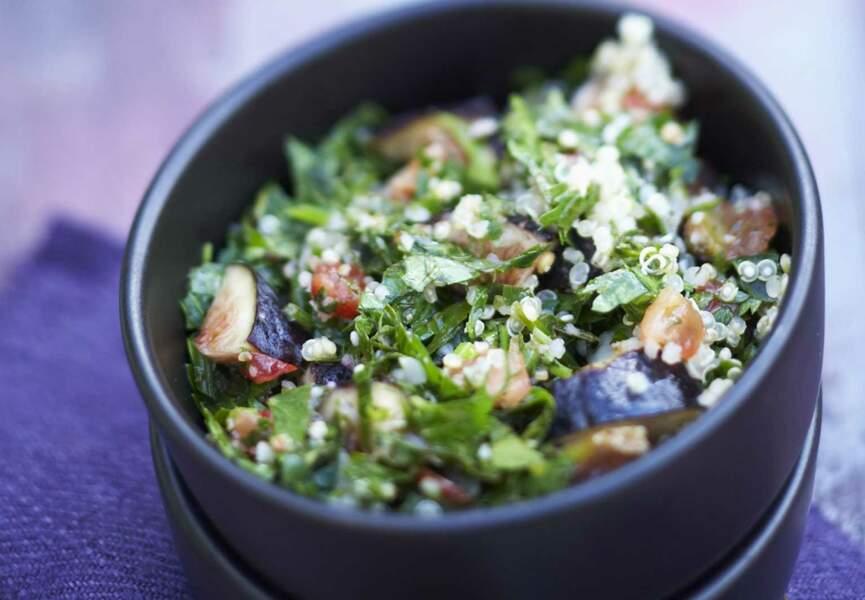 Taboulé de quinoa et figues
