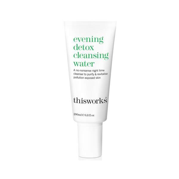 Evening Detox - Cleansing Water, This Works, tube 200 ml, prix indicatif : 28 €