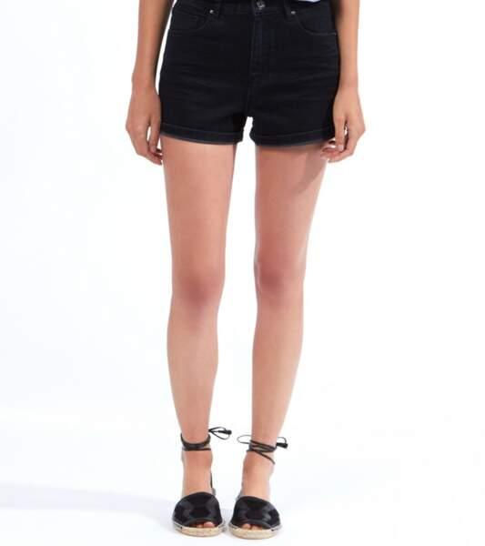Short en jean taille haute, Etam, 34,99€