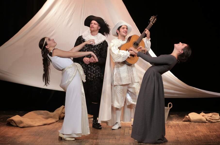 Festival des jeux du théâtre, à Sarlat : torreton en Périgord noir