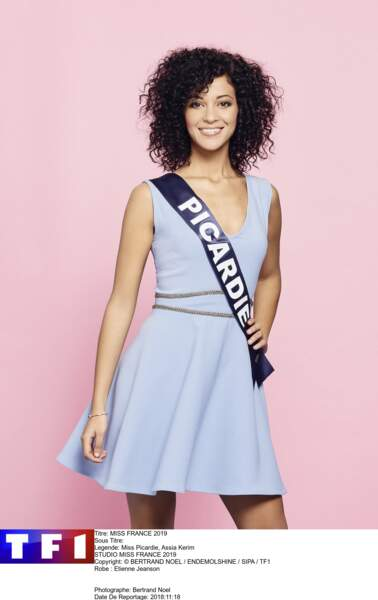Miss Picardie, Assia Kerim