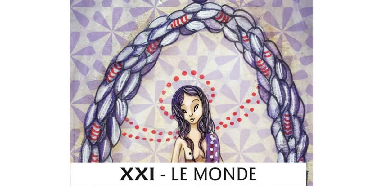 Tarot de Marseille : le Monde