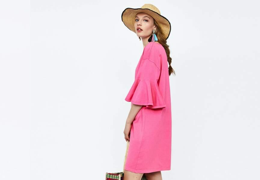 Nouveautés Zara: la robe rose