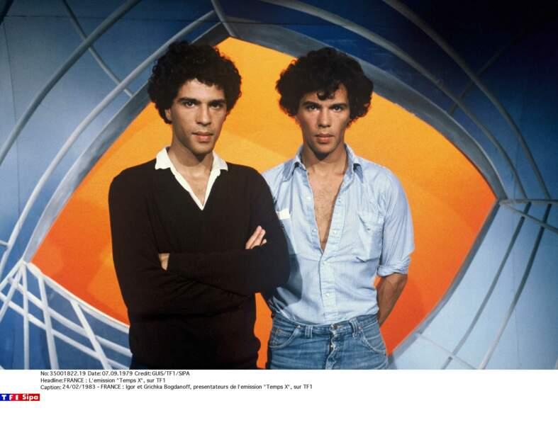 Igor et Grichka Bogdanoff : 1983