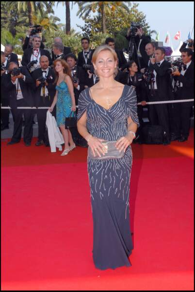 Anne-Sophie Lapix au 60ème festival de Cannes en mai 2007.