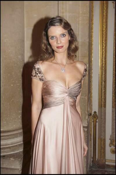 En 2008, on la retrouve princesse au Chateau de Versailles pour un dîner caritatif