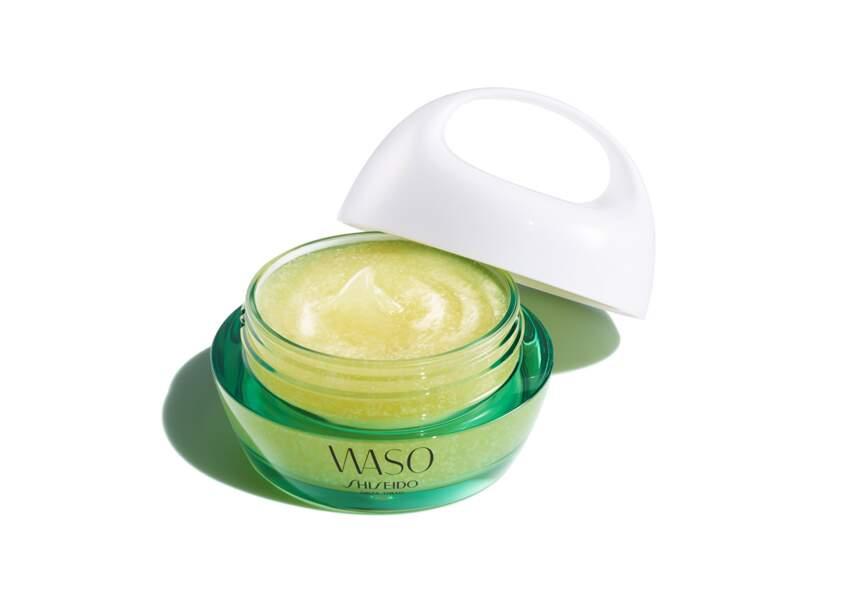 Le meilleur masque en parfumerie : Masque de nuit peau reposée Waso Shiseido
