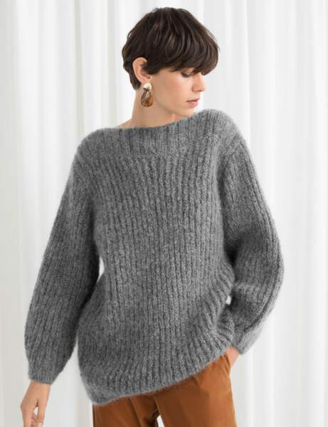 Gros pull : doux