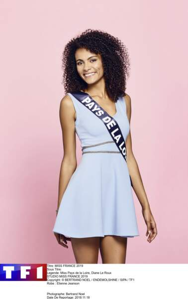 Miss Pays de Loire, Diane Le Roux