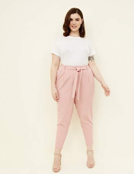 Mode grande taille : le pantalon paperbag