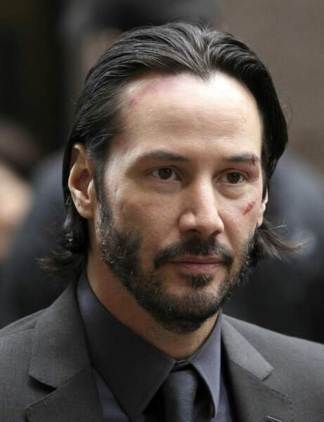 La barbe de Keanu Reeves