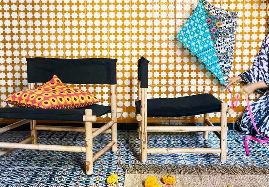 Des motifs forts et colorés chez IKEA