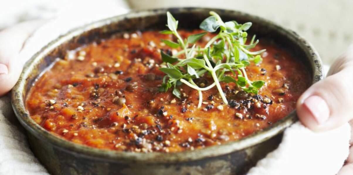 Lentilles tomate