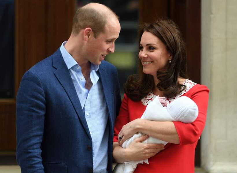 William, Kate et le 3e royal baby