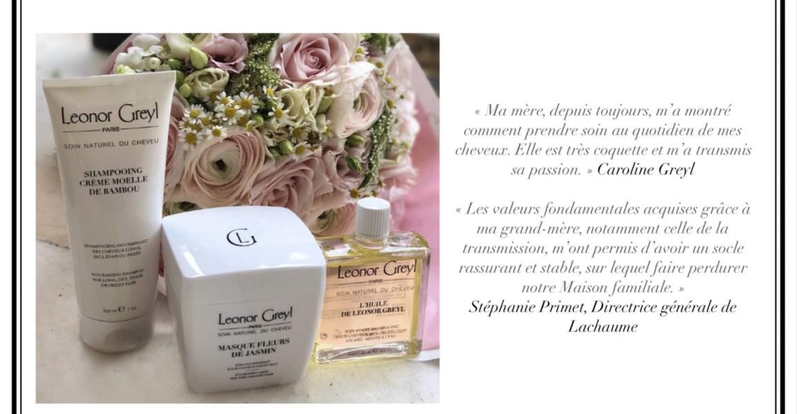 Collaboration Leonor Greyl & Lachaume