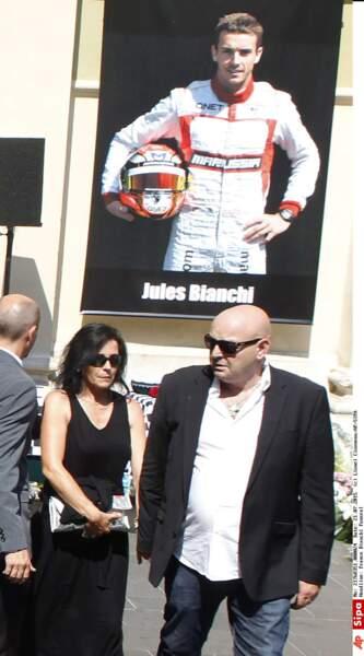 Philippe et Christine Bianchi, les parents de Jules Bianchi